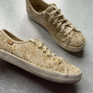 Keds Anne Rifle Co Queen Anne Lace Up Sneakers